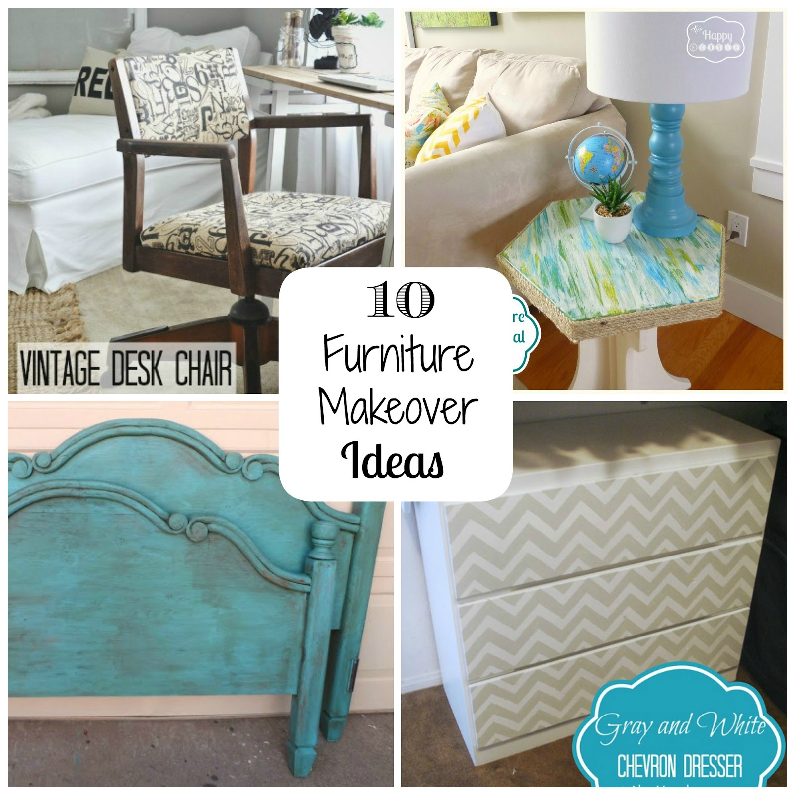Fun Home Things 10 Furniture Makeover Ideas