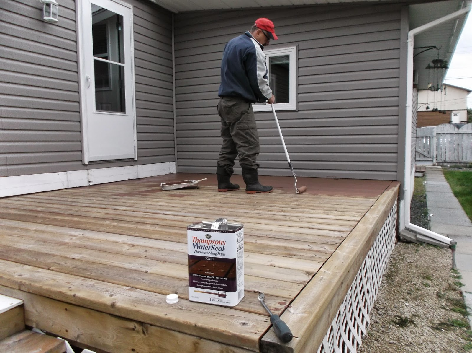 Stretching the one income dollar thompson 39 s helps to for Revive deck cleaner