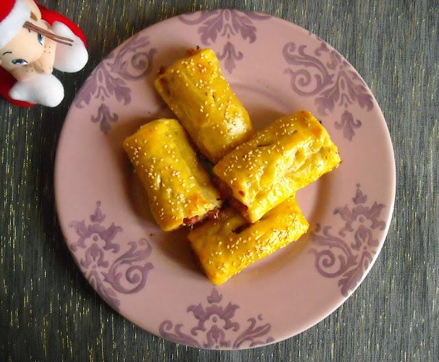 λουκανοπιτάκια – Sausage rolls