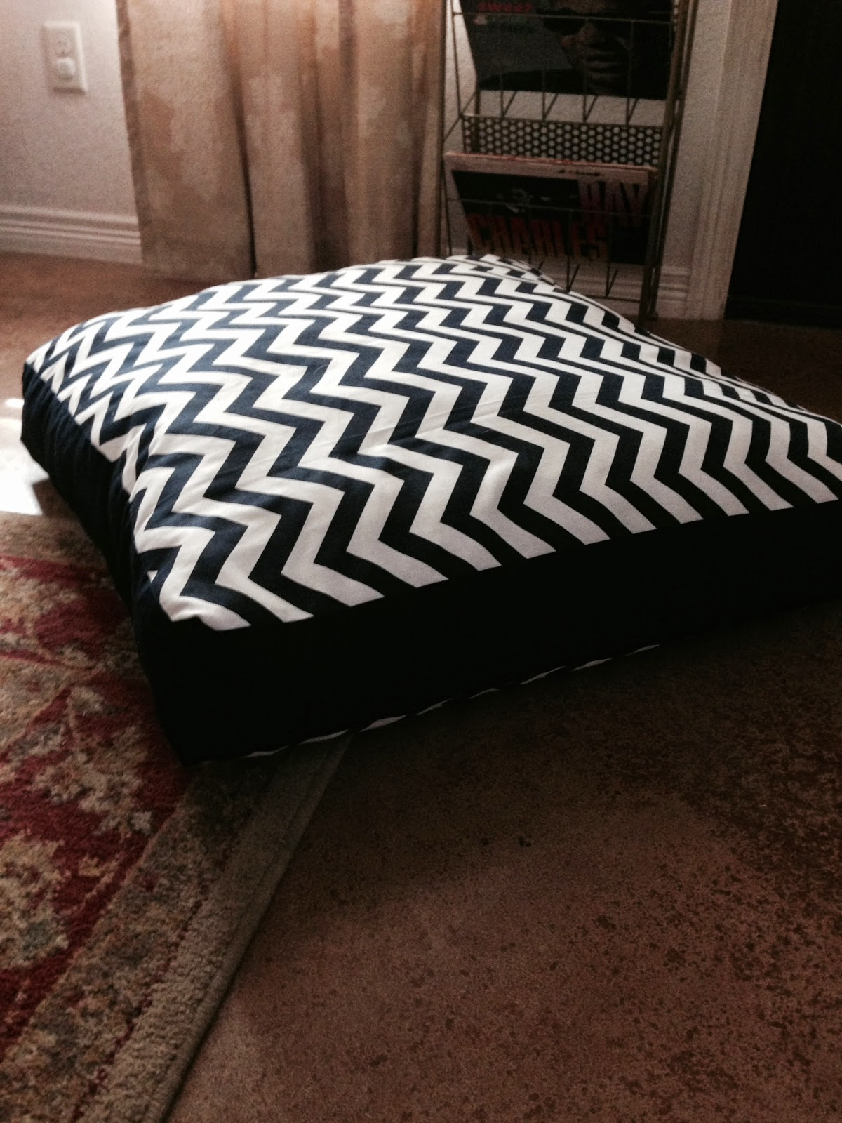 Ashley barrett designs thrifty thursday giant floor pillow what you will need solutioingenieria Gallery