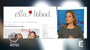 ELA WOOD SUR FRANCE 2 ! Cliquez ci-dessous pour voir la vidéo :