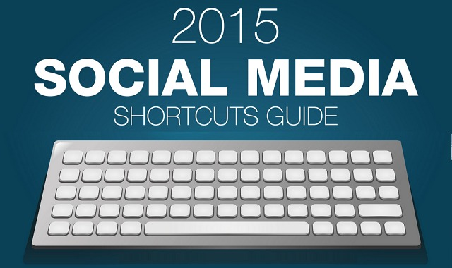 2015 Social Media Keyboard Shortcuts Cheat Sheet