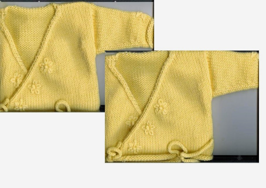 Marzipanknits Very Beginner Level Machine Knit Baby Ballet Sweater
