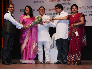 Kavita Krishnamurthy honoured with Shri Ravindra Jain Sangeet Samman