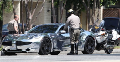 Justin Bieber pulled over after speeding on the 101 Freeway