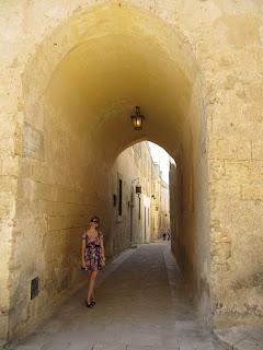 Streen in Mdina