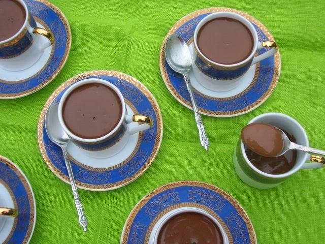 Amaretto Chocolate Pots