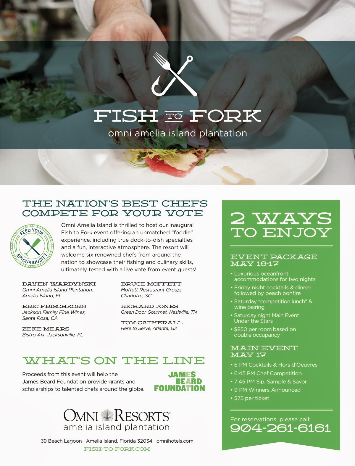 Fish to Fork Culinary Weekend