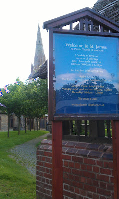  St James Church in Southam