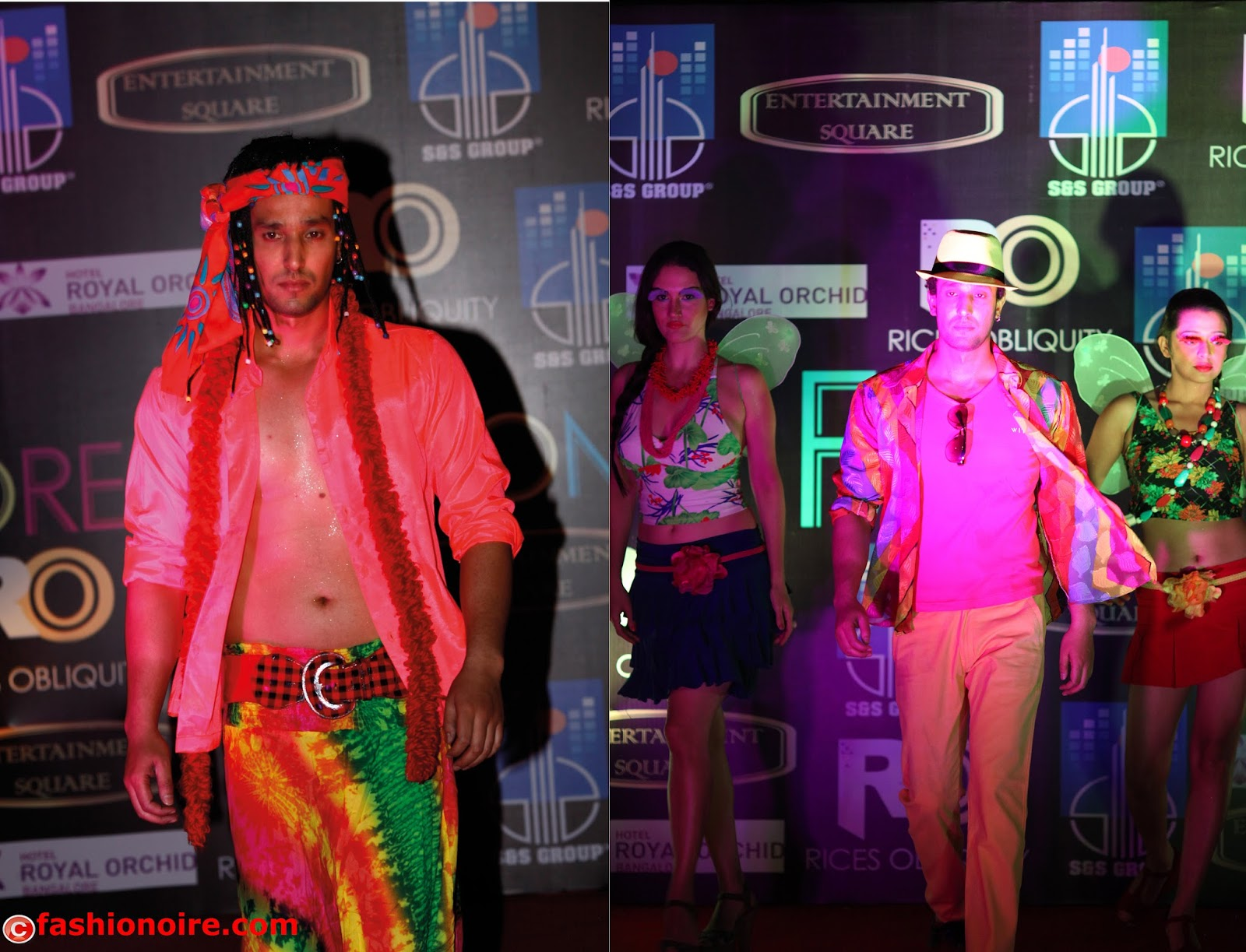 Fashion designer Rajesh shetty Show cased His Beach/Summer collection