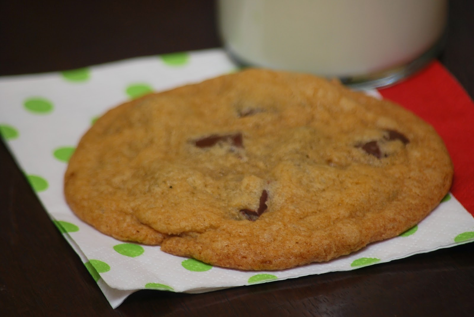 My story in recipes: Dark Chocolate Chunk Cookies