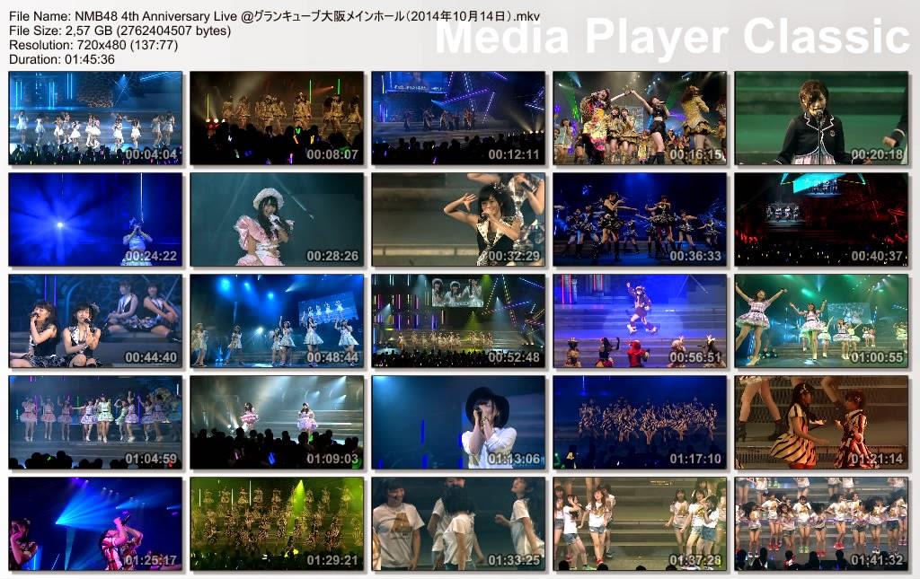 Nmb48 Anniversary 4th Live at Osaka Grand Cube 14 Oktober