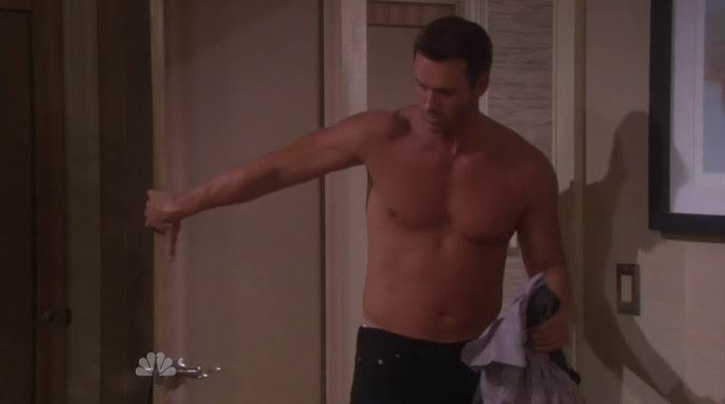Eric Martsolf Shirtless in Days of Our Lives 20111130
