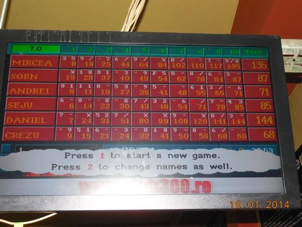 prima tura de bowling