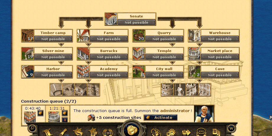 grepolis: conquer first city war browser game