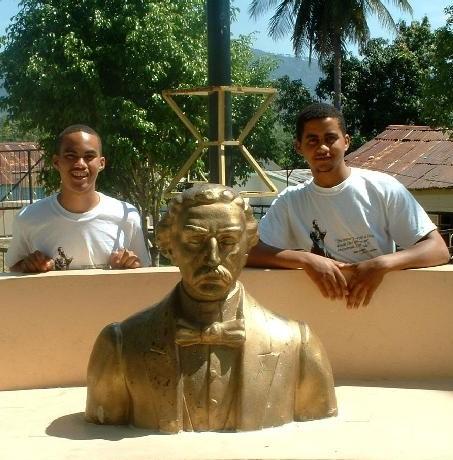 Con mi hermano Luis
