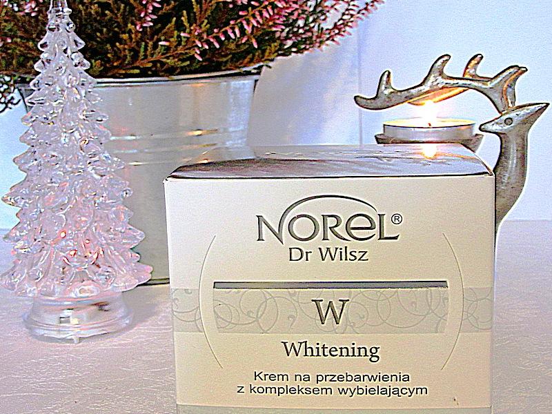 NOREL dr Wilsz, Whitening- krem na przebarwienia z kompleksem wybielającym. Pomocnik w walce z przebarwieniami.