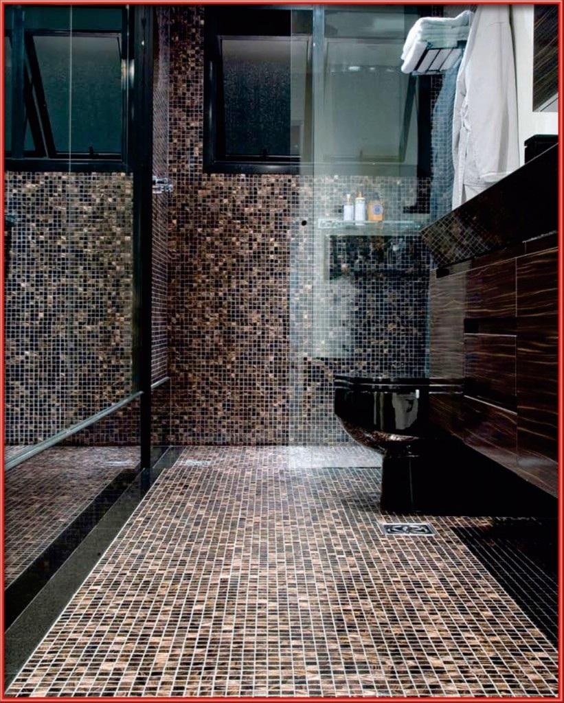 Fotos De Banheiros Decorados Com Faixa Pastilhas Vidro Verde E Pictures -> Banheiro Cm Pastilha De Vidro