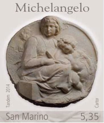 San Marino: 450th Anniversary of the death of Michelangelo
