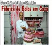 fábrica de bolos em casa