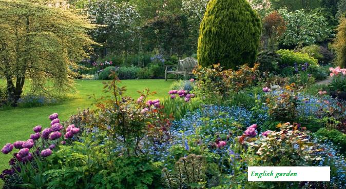 English Cottage Garden In Worcestershire English Garden