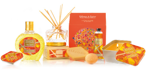 L'Occitane Delice des Fruits collection