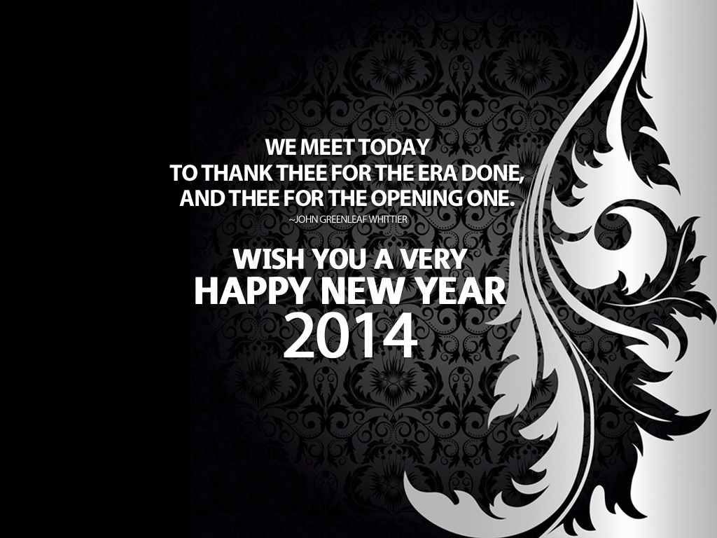 Happy New Year Greeting Ecard Wallpapers