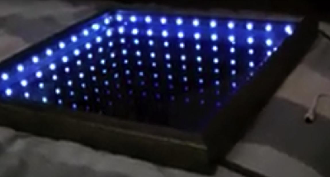 diy led spiegel die. Black Bedroom Furniture Sets. Home Design Ideas
