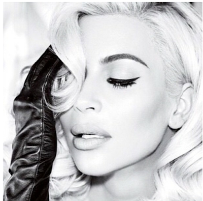 Kim Kardashian goes blonde for Vogue Brazil cover shoot