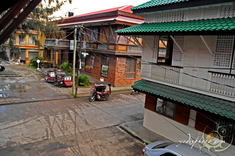 View of the old houses in Boac Marinduque