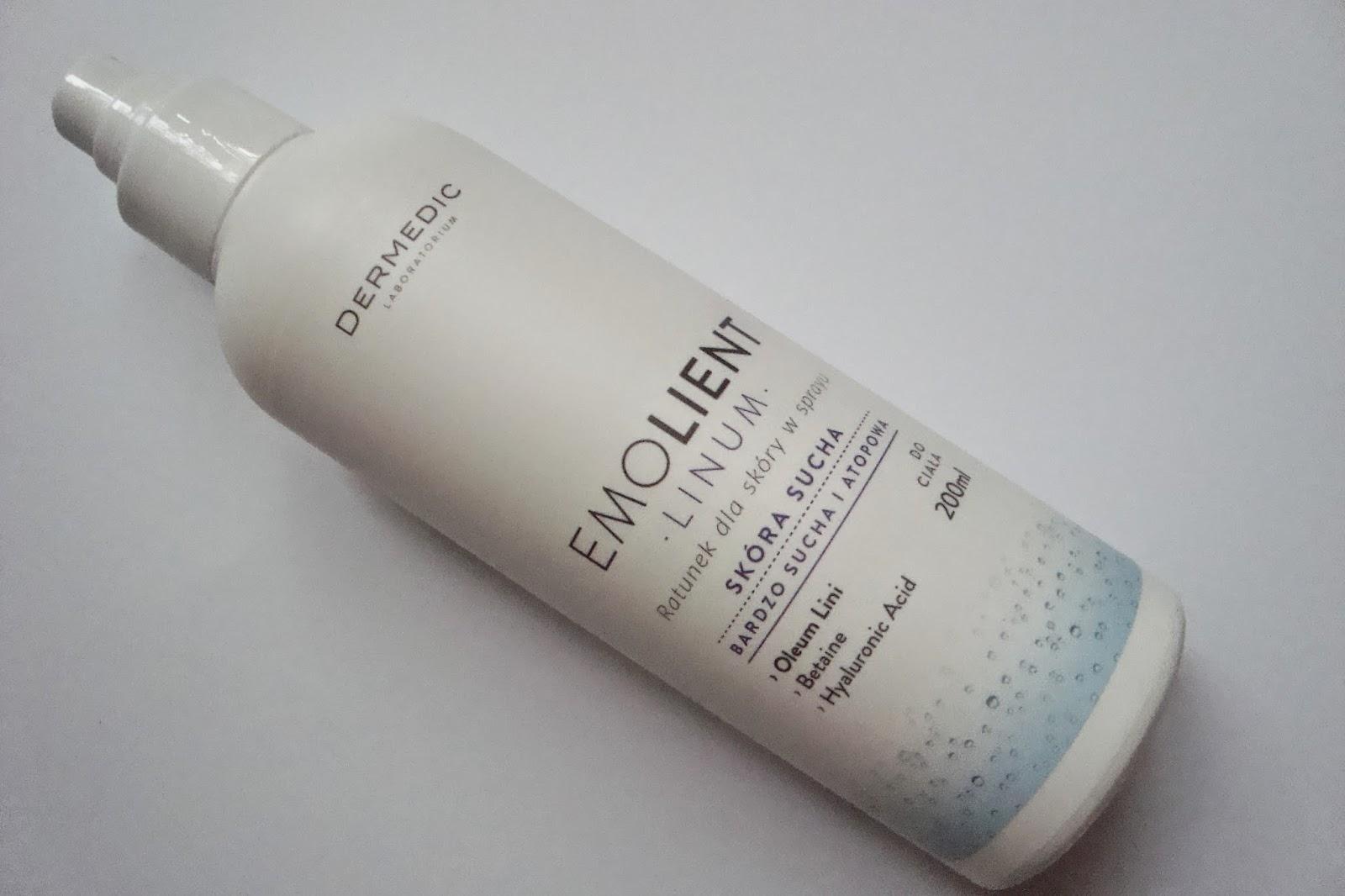 Ratunek dla skóry w sprayu Dermedic Emolient linum