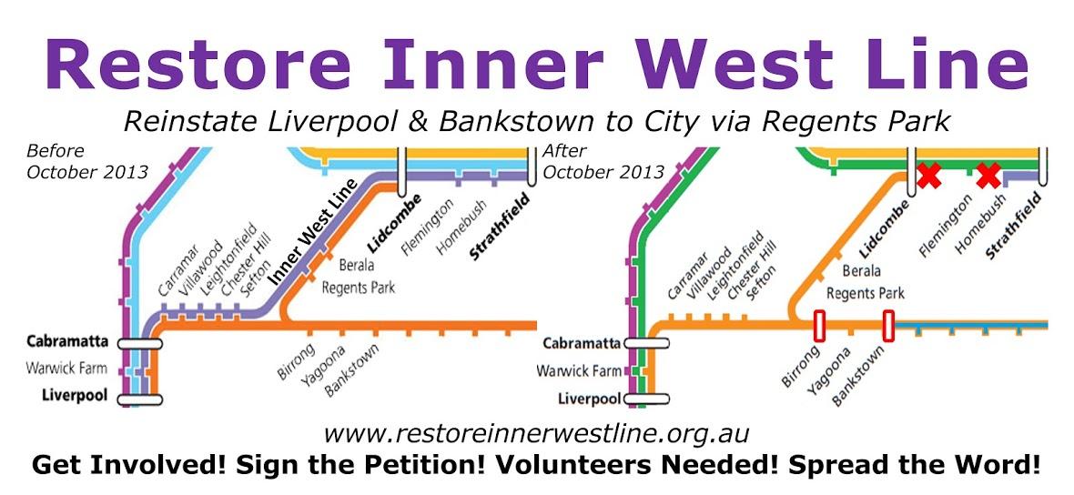 Restore Inner West Line