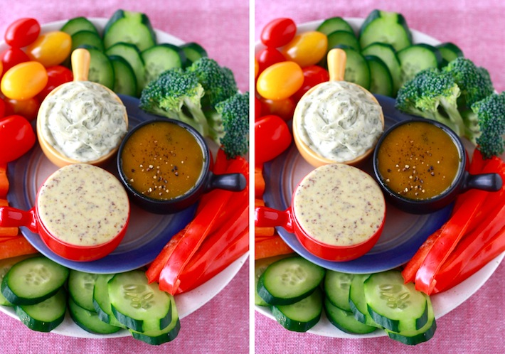 Spicy honey mustard dips and Dill dip by SeasonWithSpice.com