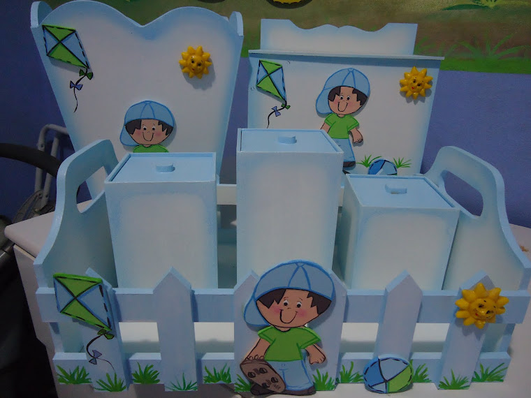 kit de higiene de mdf