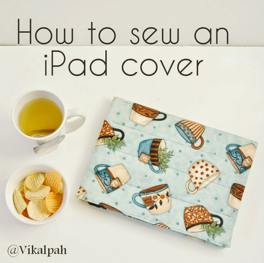 How to sew an ipad cover