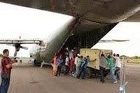 PENGANTARAN HADIAH DENGAN PESAWAT BOING 777