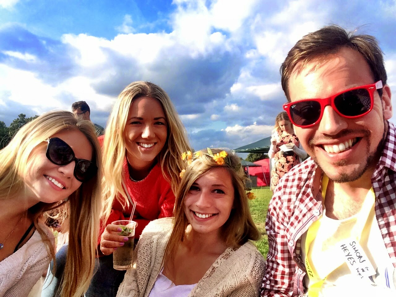 3 Blondes and a brunette - Blogstock 2014