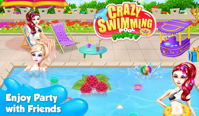 swimming party for kids