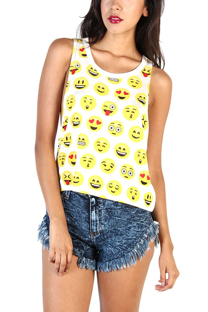 Cheap Outlet Store Sleeveless Top - alien flower bp 17 by VIDA VIDA Outlet Sale Online 1m96rgkH