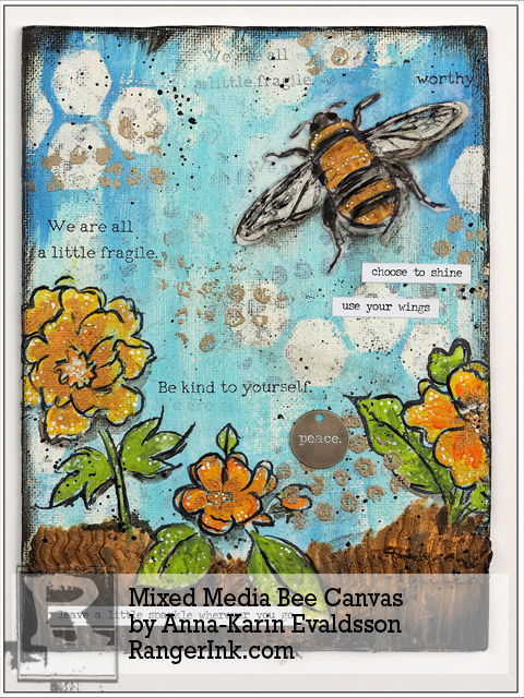 http://1.bp.blogspot.com/-K8jJHhFLQUw/VXn2qR7ki9I/AAAAAAAAUaE/NLigrYnAgrI/s1600/Mixed-Media-Bee-Canvas-by-Anna-Karin-Evaldsson.jpg