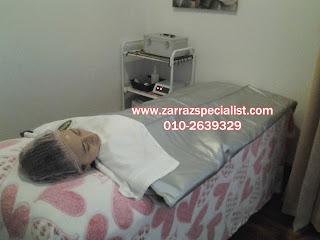hot blanket, treatment selulit, pengedar zarraz di subang, kedai zarraz di shah alam