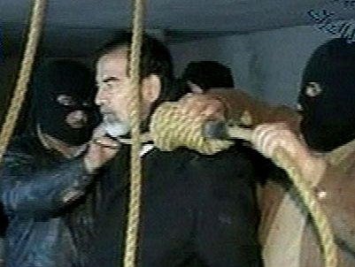 Saddam Hussein's execution in 2006