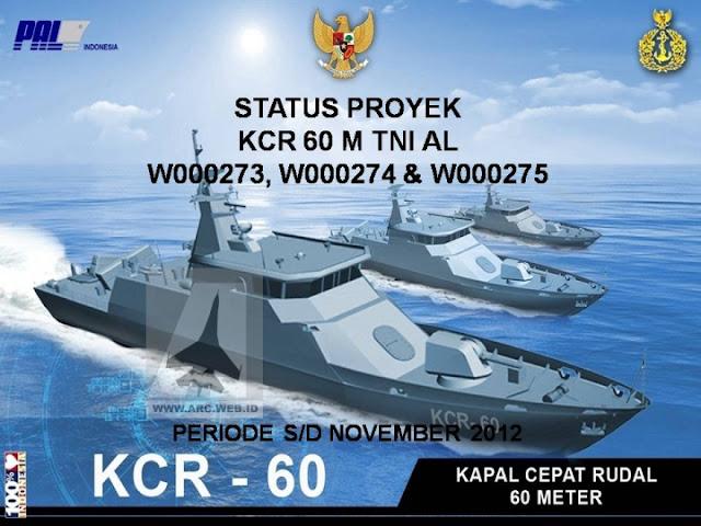 Kapal Cepat Rudal 60 meterPT . PAL