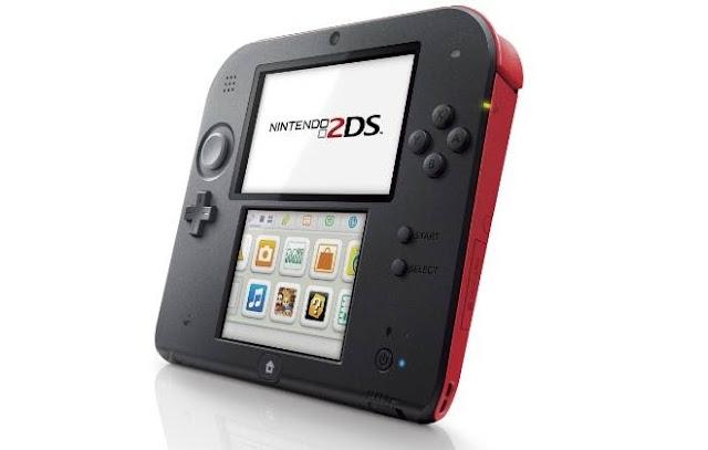 Nintendo anuncia o 2DS, seu novo console portátil.