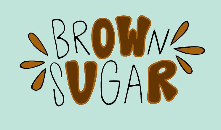 brown sugar jana miller hand lettereing