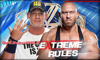 Extreme Rules 2013 » John Cena vs Ryback (WWE Championship)