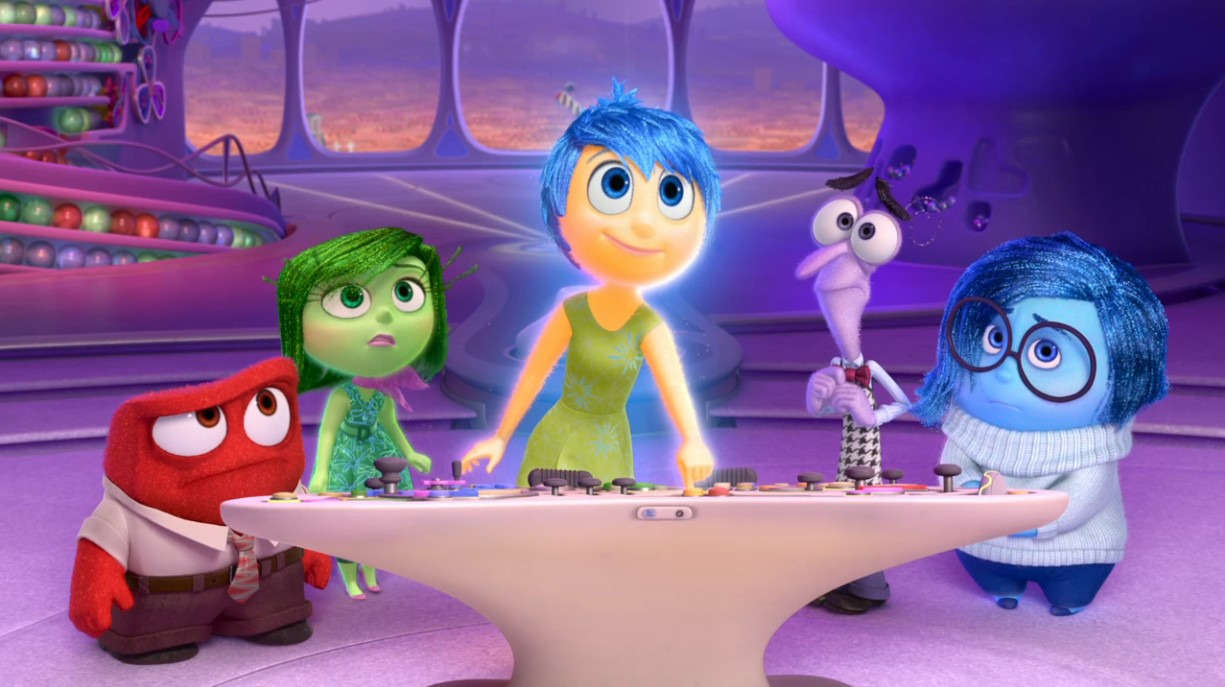 Prevalentemente anime e manga inside out cosa passa per