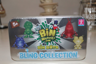 Bin Weevil bling collection