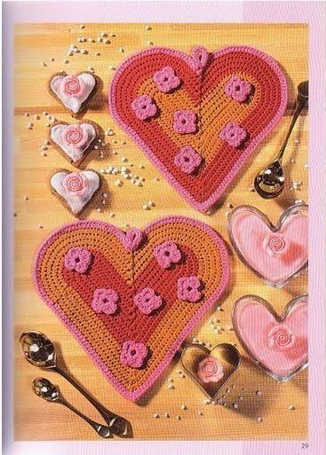 Patrones de corazones para decorar