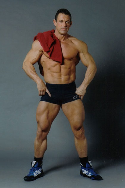 Alain Petriz - Master Bodybuilding Competitor, Sexy Big Ripped Daddy Hunk